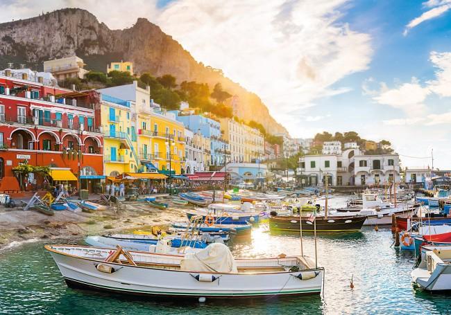 Puzzle Clementoni Capri, Italia de 1500 Piezas