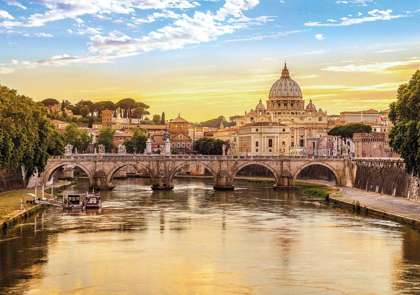 Puzzle Clementoni Roma de 1500 Piezas