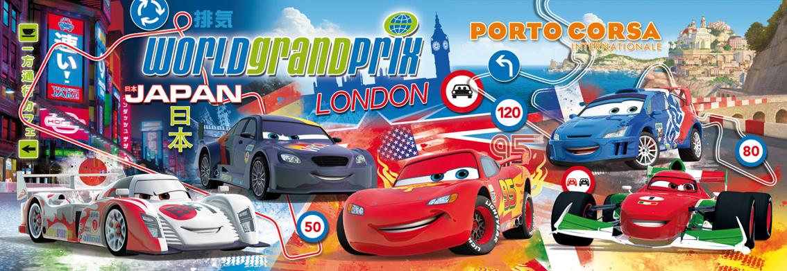 Puzzle Clementoni Cars 2 de 1000 Piezas