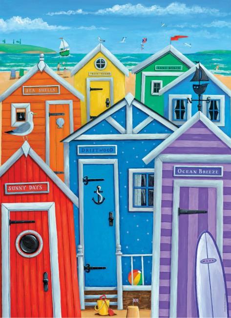 Puzzle Clementoni Casa de Playas de 1000 Piezas
