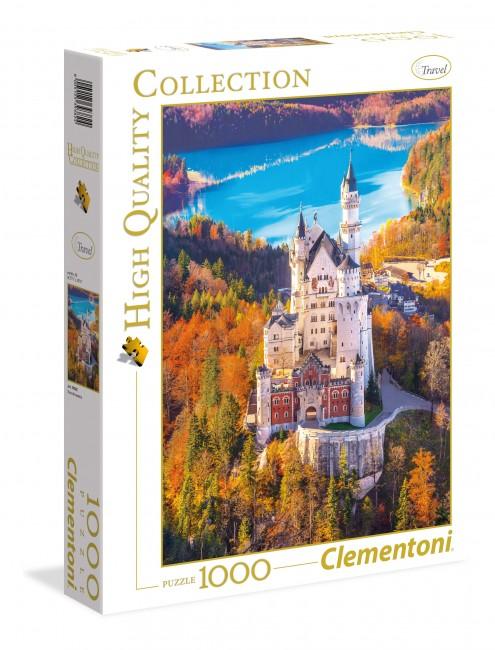 Puzzle Clementoni Castillo Neuschwanstein  de 1000 Piezas