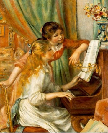 Puzzle Clementoni Chicas al Piano de 500 Piezas