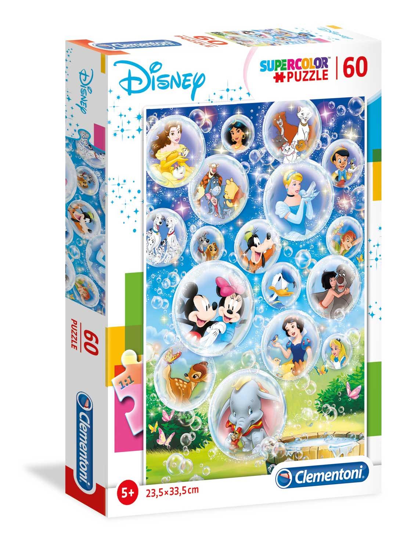 Puzzle Clementoni Clásicos Disney de 60 Piezas
