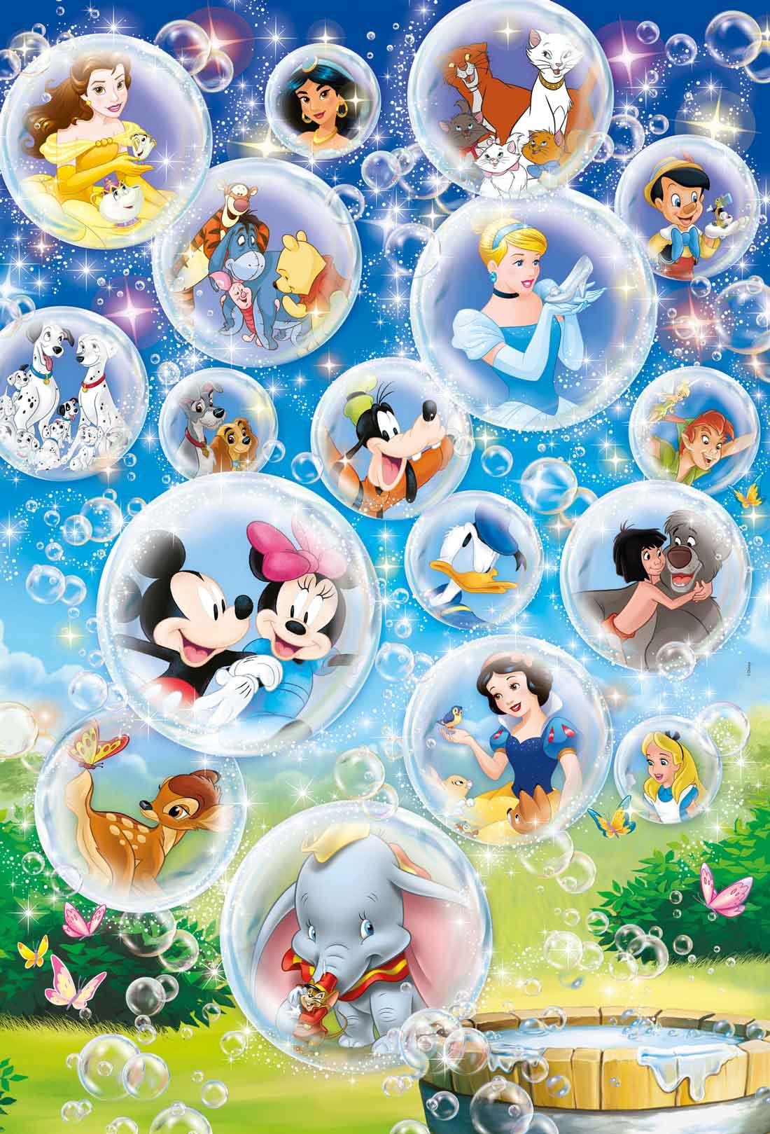 Puzzle Clementoni Clásicos Disney Maxi 60 Piezas