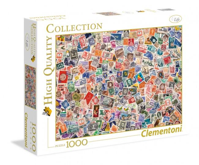 Puzzle Clementoni Colección de Sellos de 1000 Piezas