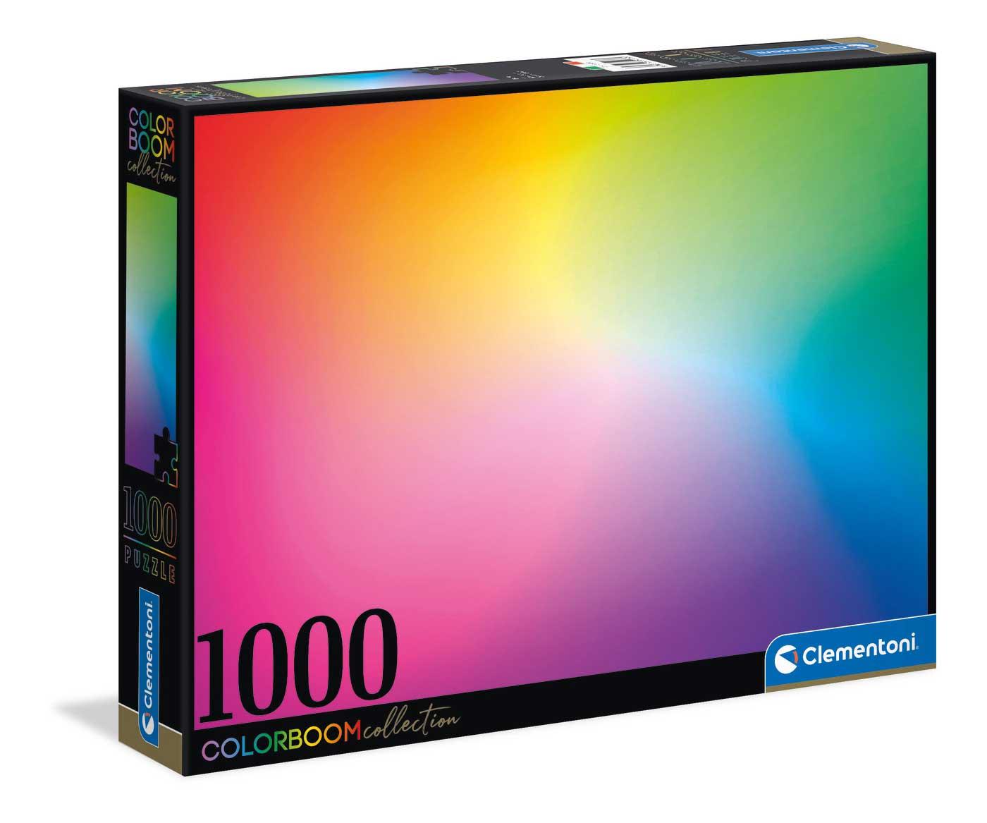 Puzzle Clementoni ColorBoom Puro de 1000 Piezas