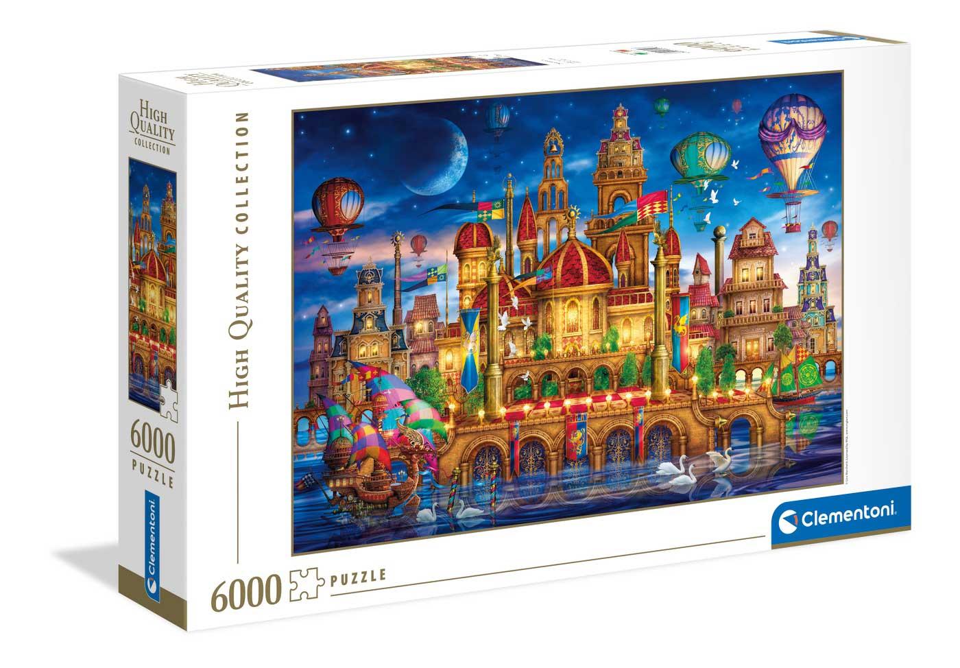 Puzzle Clementoni Downtown Ciudad Mágica 6000 Piezas