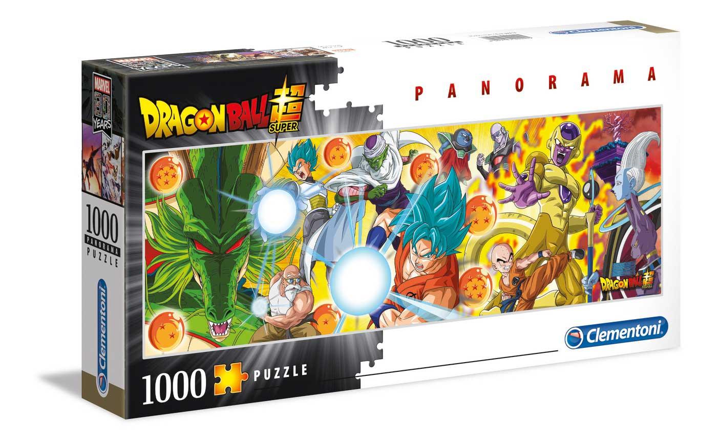 Puzzle Clementoni Dragon Ball Panorámico de 1000 Piezas