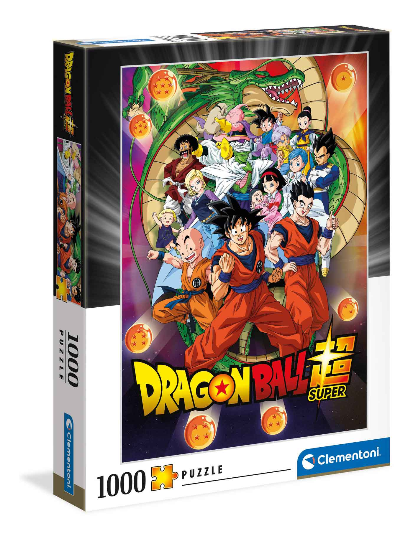 Puzzle Clementoni Dragon Ball Super de 1000 Piezas