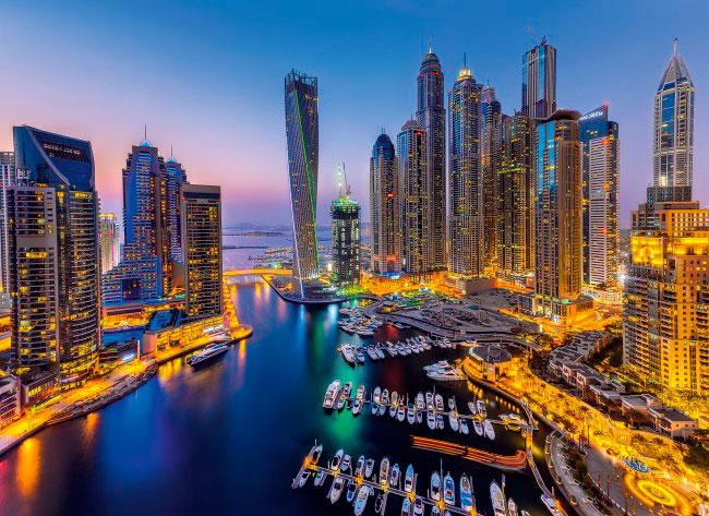 Puzzle Clementoni Dubai de 1000 Piezas