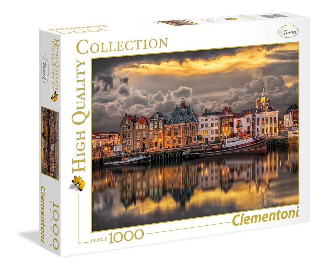 Puzzle Clementoni Dutch Dreamworld de 1000 Piezas