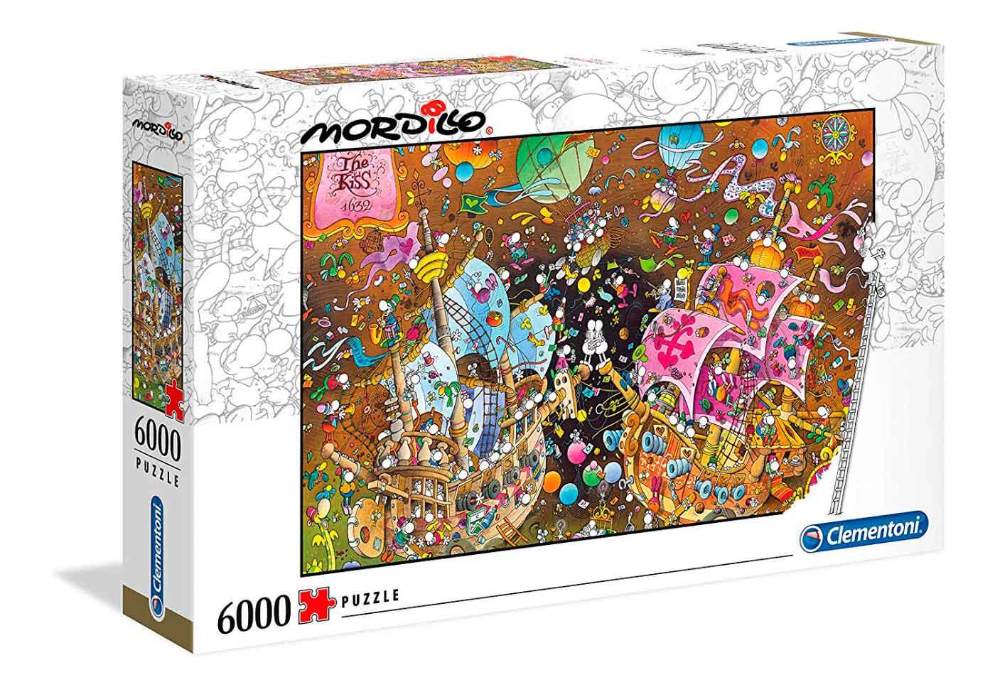Puzzle Clementoni El Beso 6000 Piezas