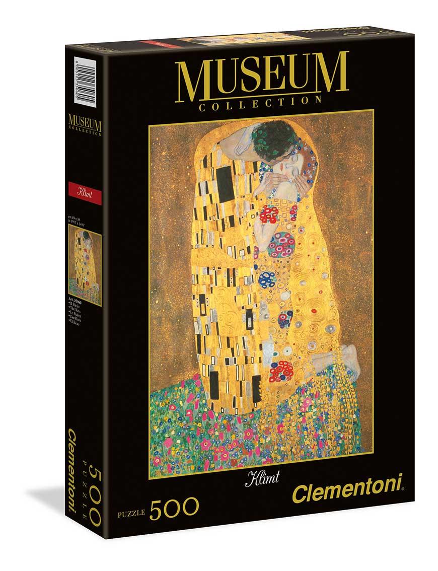 Puzzle Clementoni El Beso de 500 Piezas