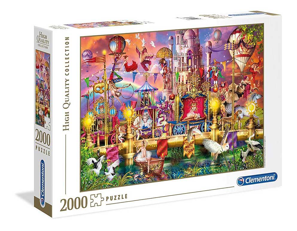 Puzzle Clementoni El Circo de 2000 Piezas