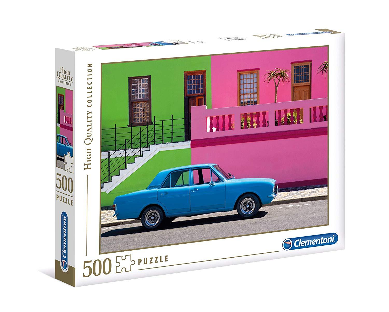 Puzzle Clementoni El Coche Azul de 500 Piezas