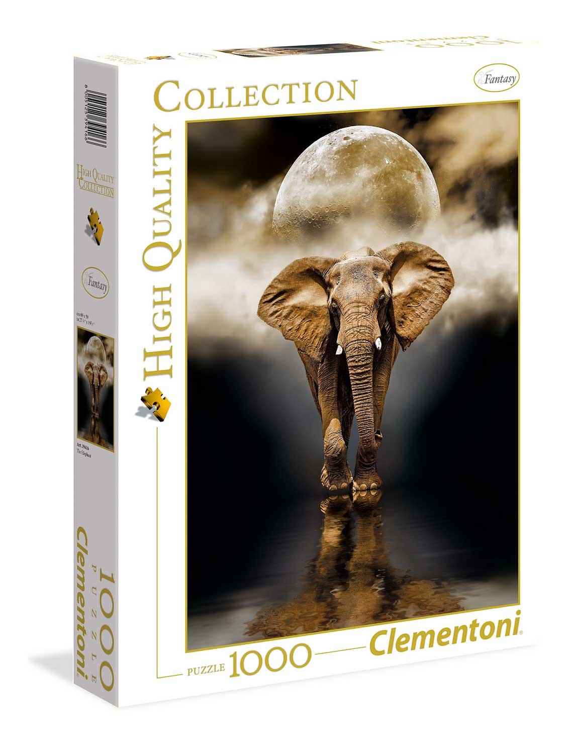 Puzzle Clementoni El Elefante  de 1000 Piezas