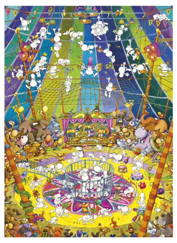 Puzzle Clementoni El Espectáculo de 1000 Piezas