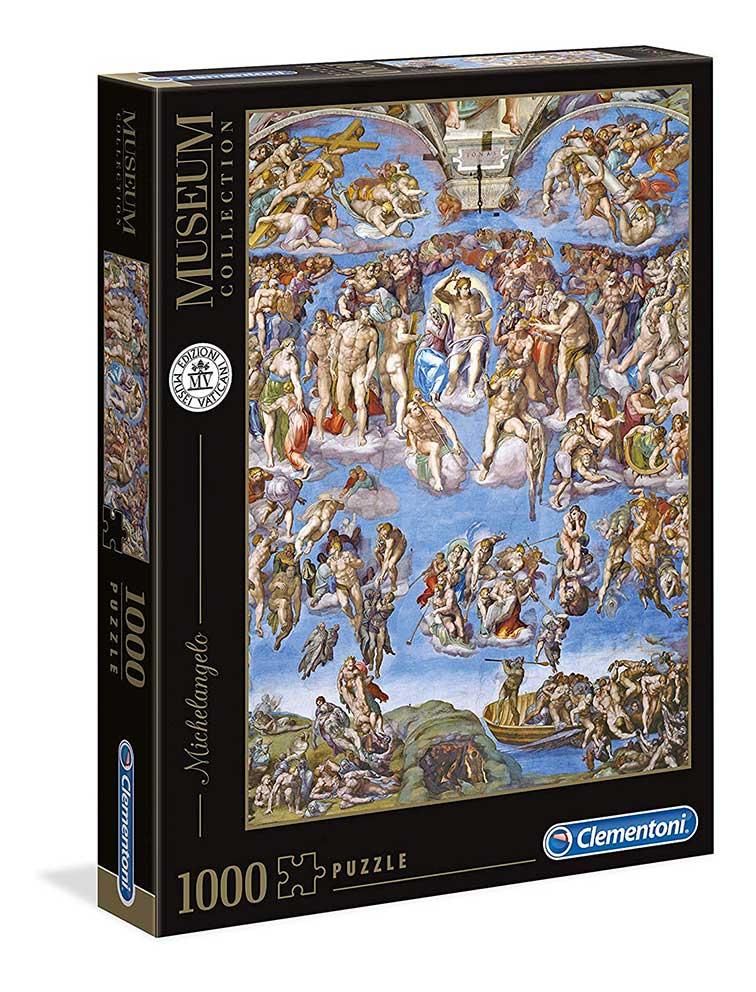 Puzzle Clementoni El Juicio Final de 1000 Piezas