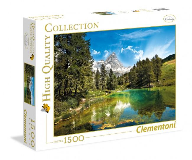 Puzzle Clementoni El Lago Azul de 1500 Piezas
