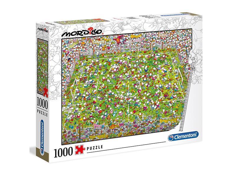 Puzzle Clementoni El Partido de 1000 Piezas