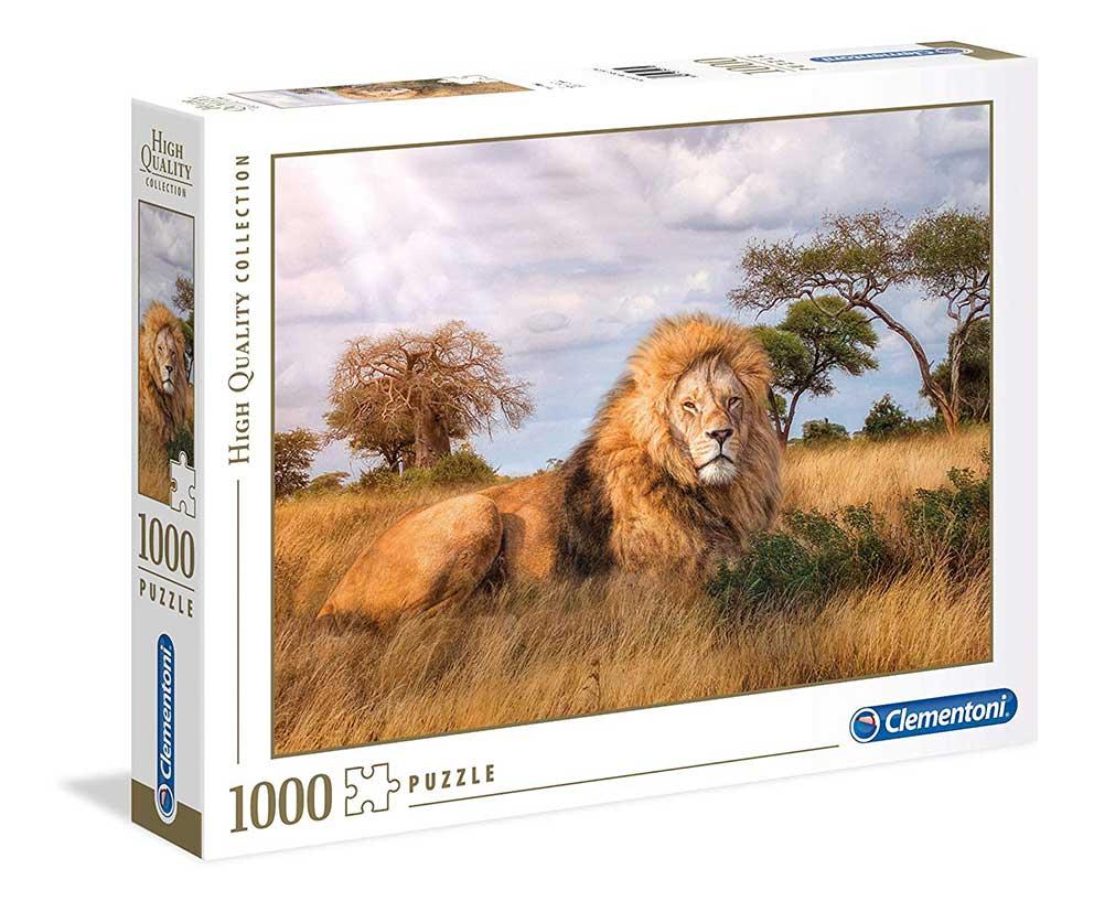 Puzzle Clementoni El Rey de la Selva de 1000 Piezas