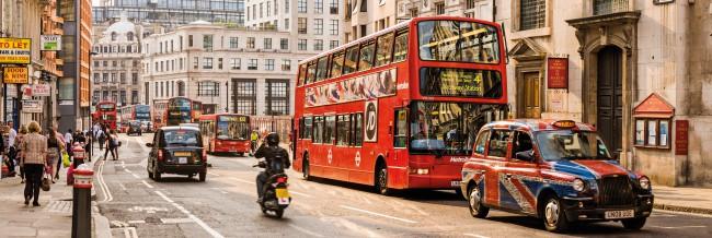 Puzzle Clementoni El Tráfico Londres de 1000 Piezas