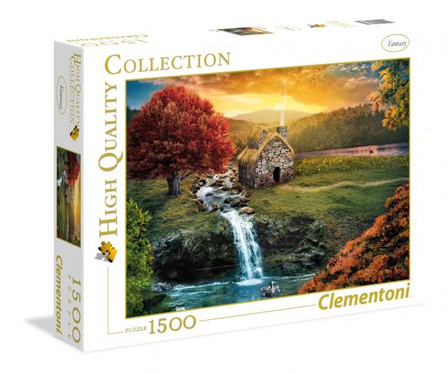 Puzzle Clementoni Espejismo de 1500 Piezas