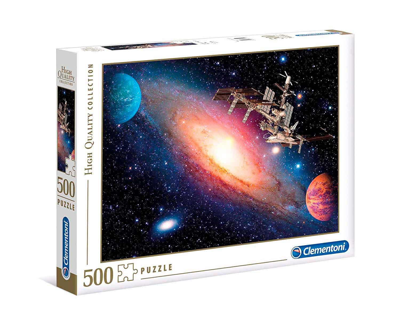Puzzle Clementoni Estación Espacial Internacional de 500 Piezas