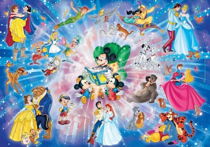 Puzzle Clementoni Familia Disney Maxi 60 Piezas