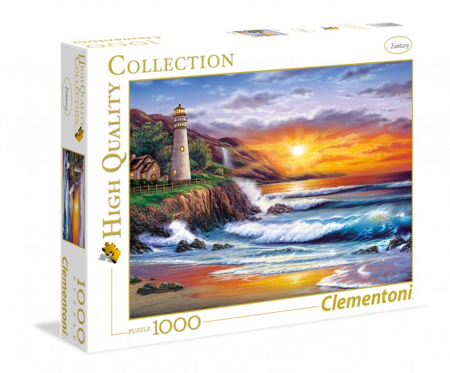 Puzzle Clementoni Faro al Atardecer de 1000 Piezas