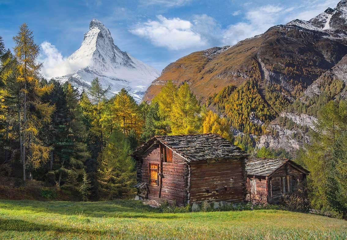 Puzzle Clementoni Fascinado con el Matterhorn de 2000 Piezas