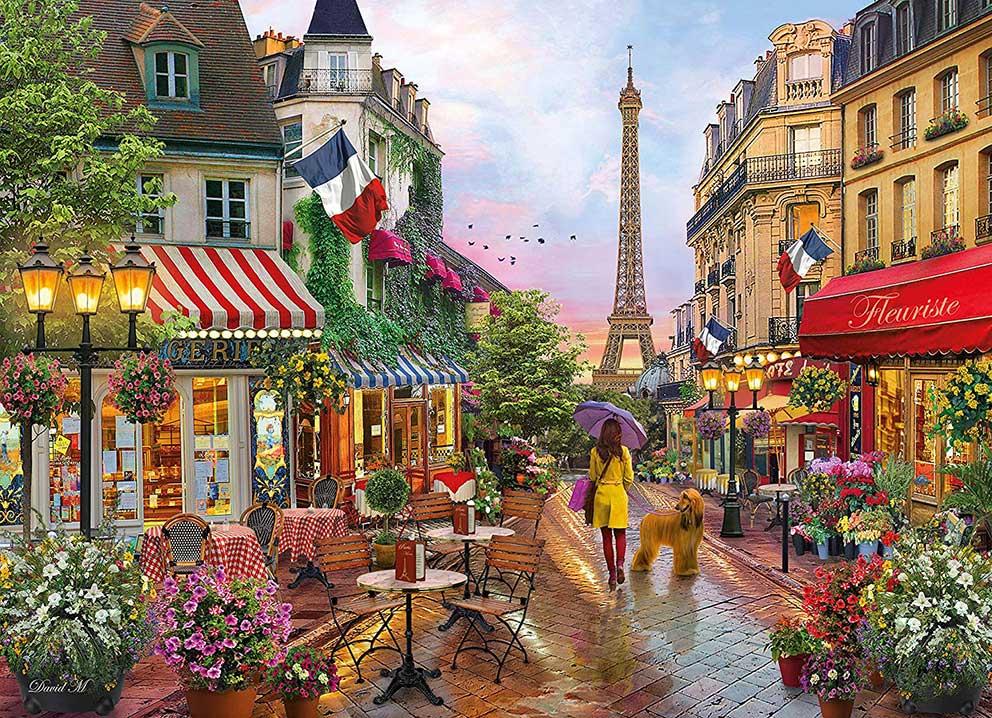 Puzzle Clementoni Flores en París  de 1000 Piezas