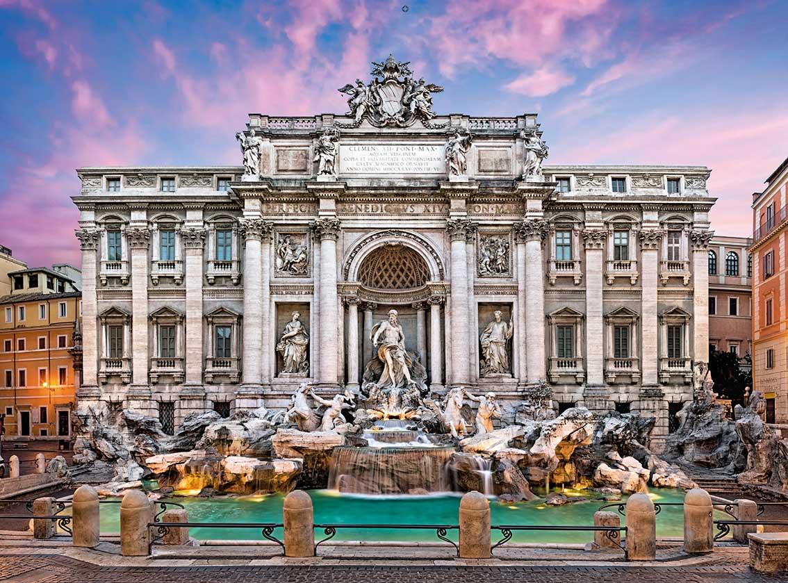 Puzzle Clementoni Fontana de Trevi de 500 Piezas