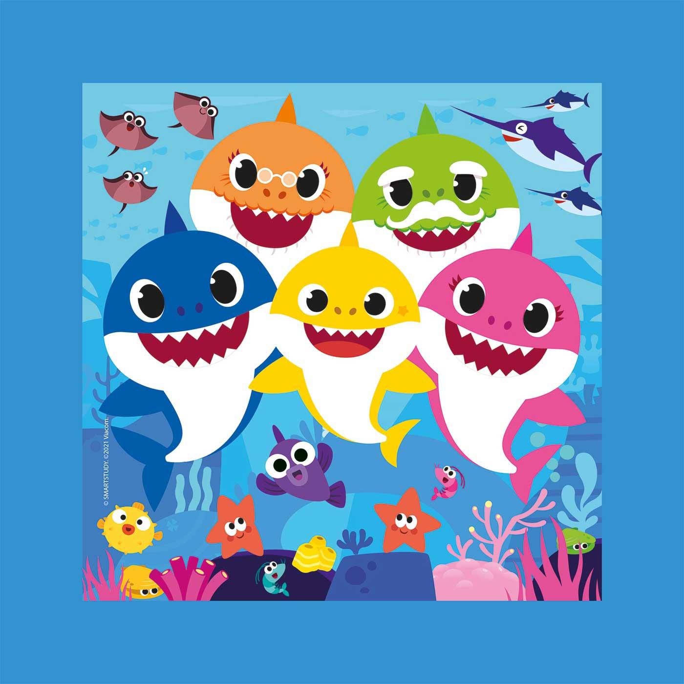 Puzzle Clementoni Frame Me Up Baby Shark de 60 Pzs