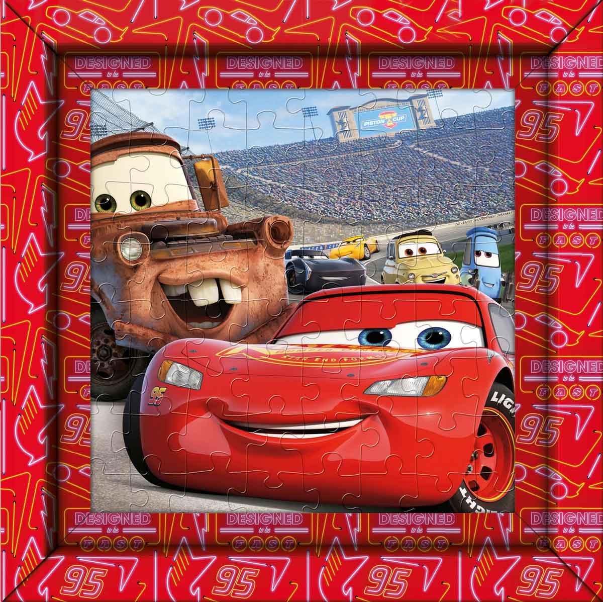 Puzzle Clementoni Frame Me Up Cars de 60 Pzs
