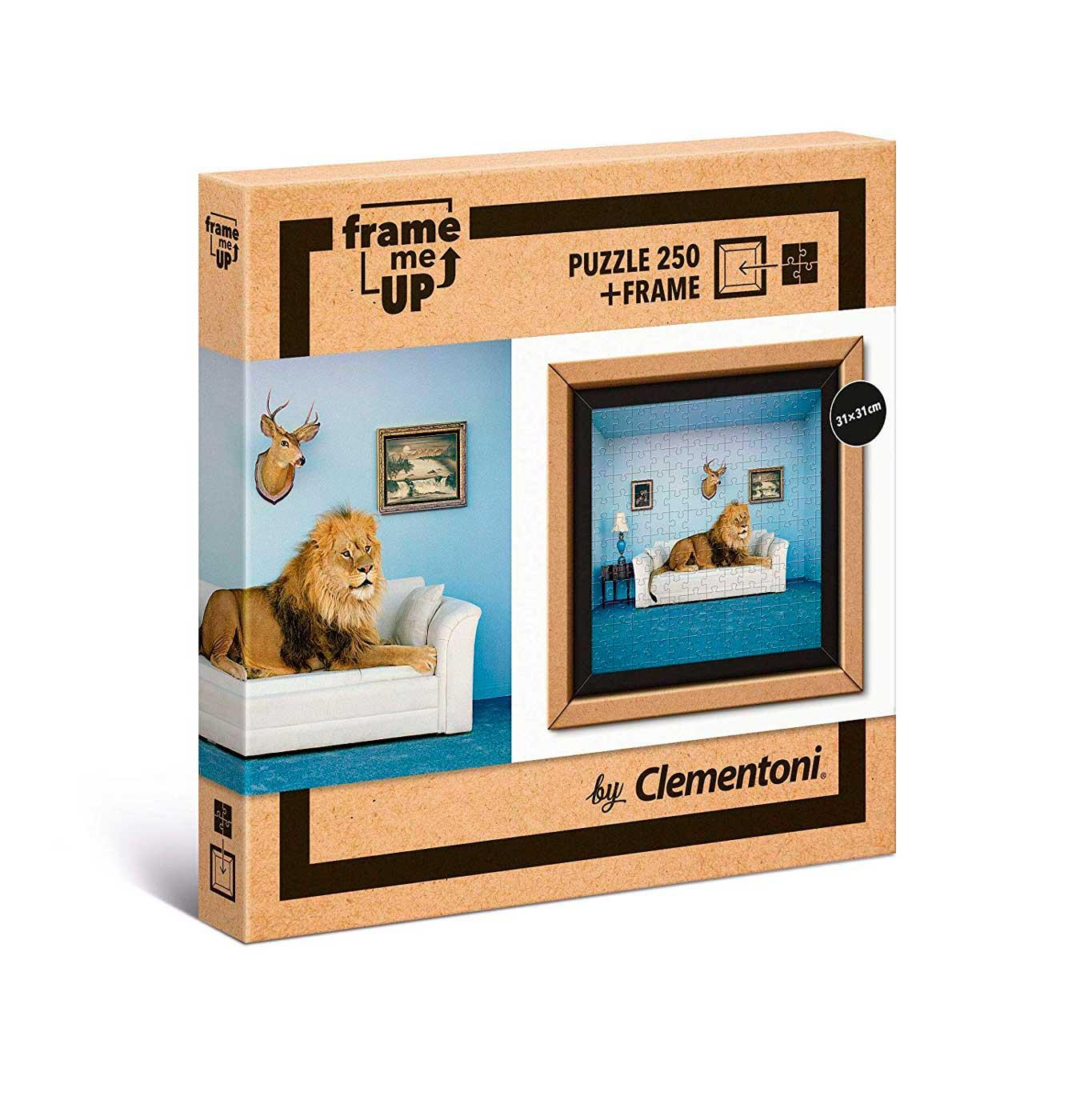 Puzzle Clementoni Frame Me Up Hogar Salvaje de 250 Pzs