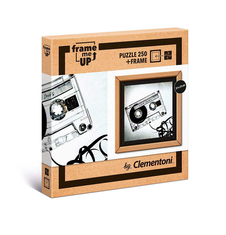 Puzzle Clementoni Frame Me Up Música Vintage de 250 Pzs
