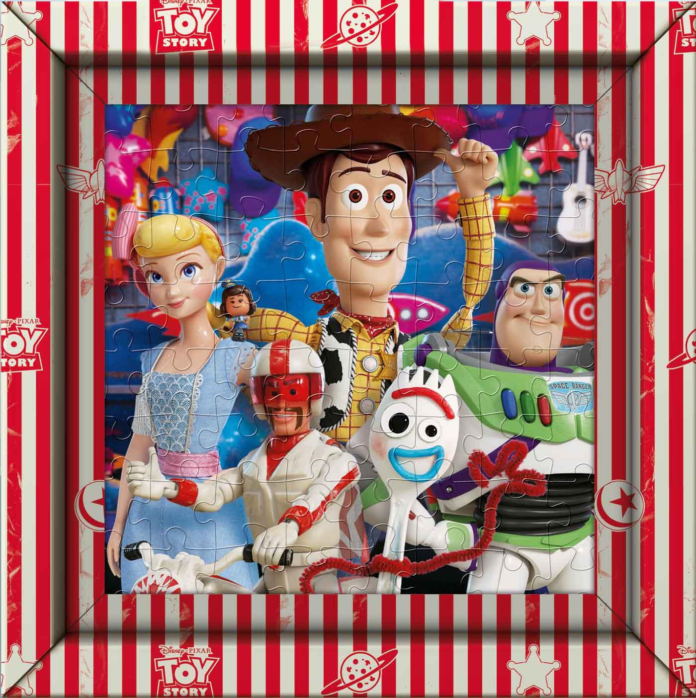 Puzzle Clementoni Frame Me Up Toy Story 4 de 60 Pzs