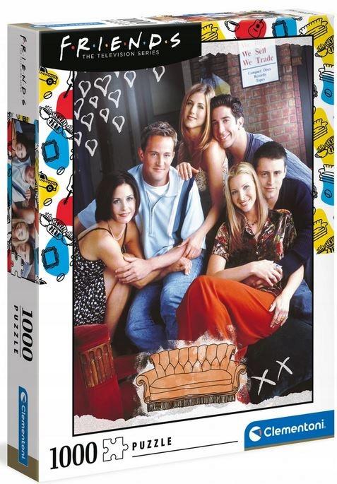 Puzzle Clementoni Friends de 1000 Piezas