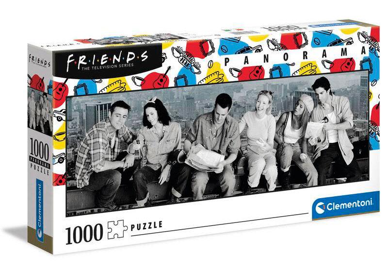 Puzzle Clementoni Friends Panorama de 1000 Piezas