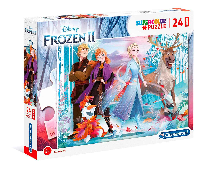 Puzzle Clementoni Frozen 2 Maxi 24 Piezas