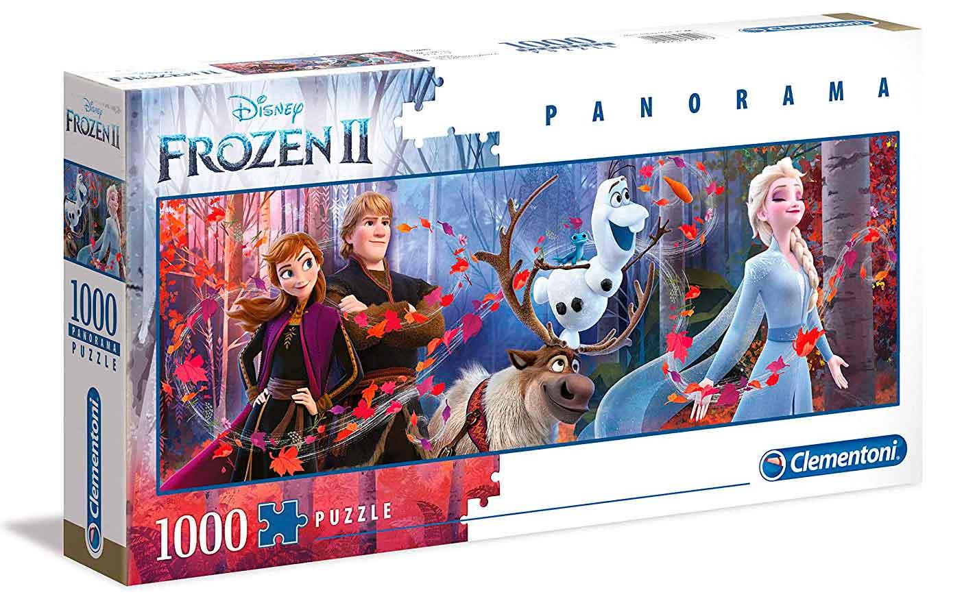 Puzzle Clementoni Frozen 2 Panorámico de 1000 Piezas