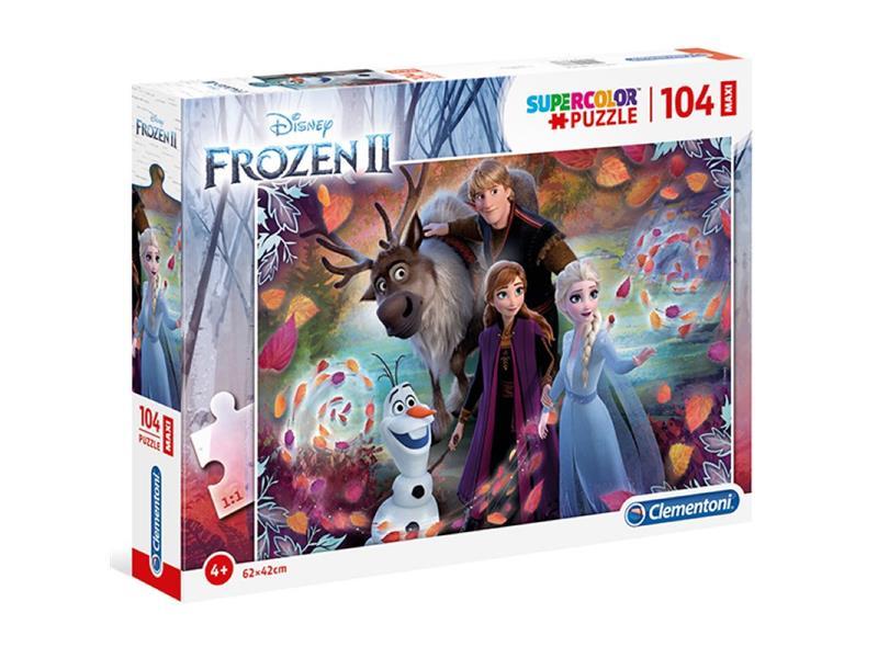 Puzzle Clementoni Frozen 2 Maxi 104 Piezas