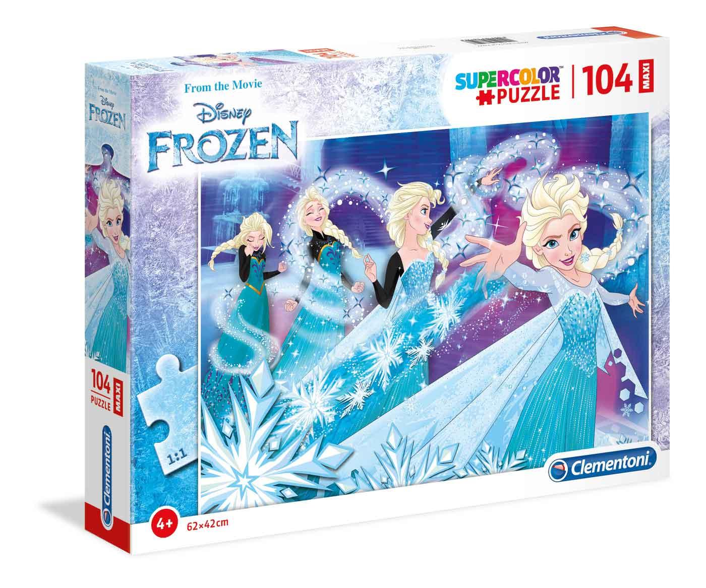 Puzzle Clementoni Frozen Maxi 104 Piezas