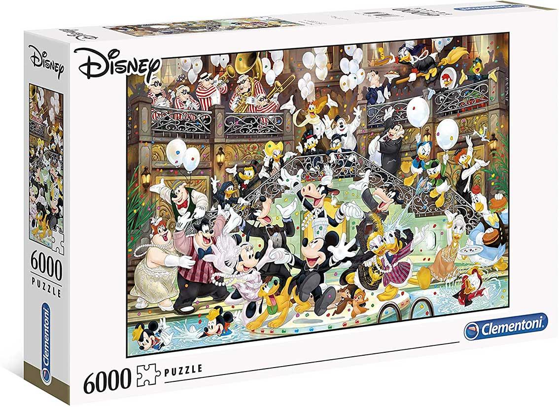Puzzle Clementoni Gala Disney de 6000 Piezas