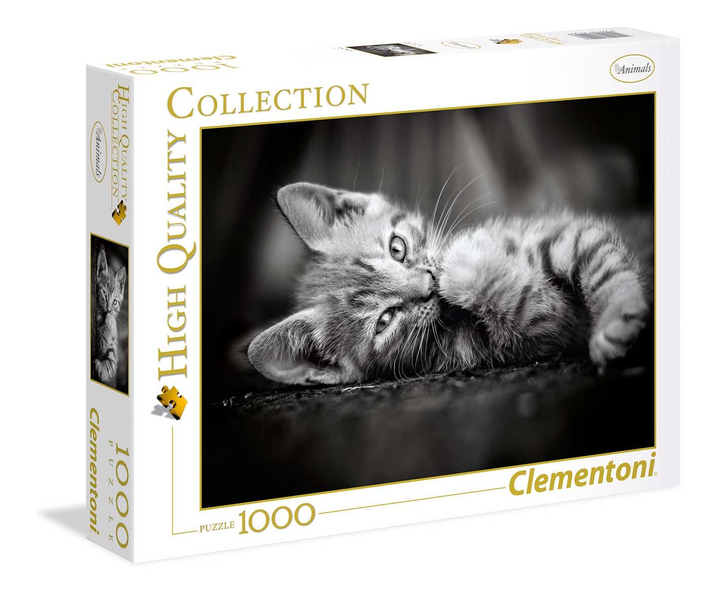 Puzzle Clementoni Gatito de 1000 Piezas