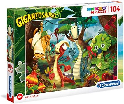 Puzzle Clementoni Gigantosaurus de 104 Piezas