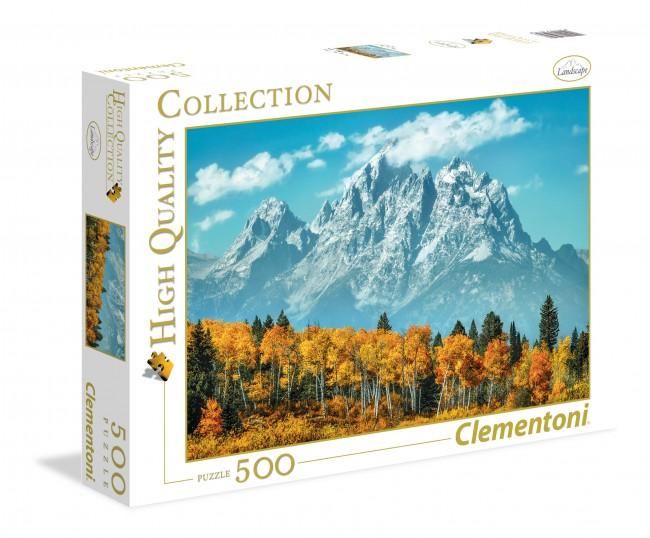 Puzzle Clementoni Grand Teton en Otoño de 500 Piezas