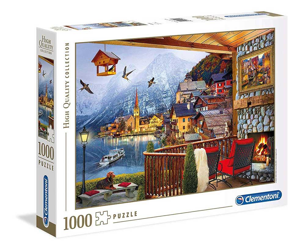 Puzzle Clementoni Hallstatt de 1000 Piezas