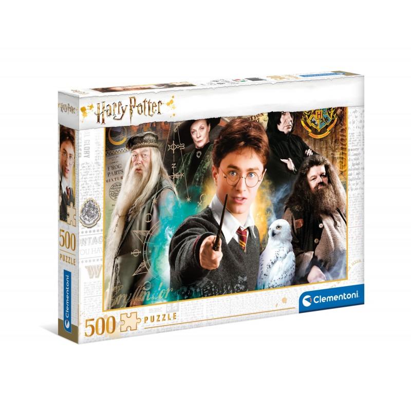 Puzzle Clementoni Harry Potter 2 de 500 Piezas